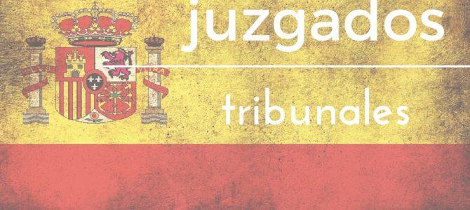 Hiszpańskie sądownictwo – juzgados i tribunales